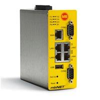 mbNET met 2 seriële interfaces